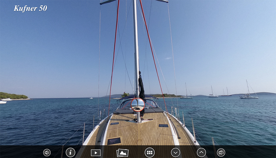 kufner yachts kufner 50 virtual tour