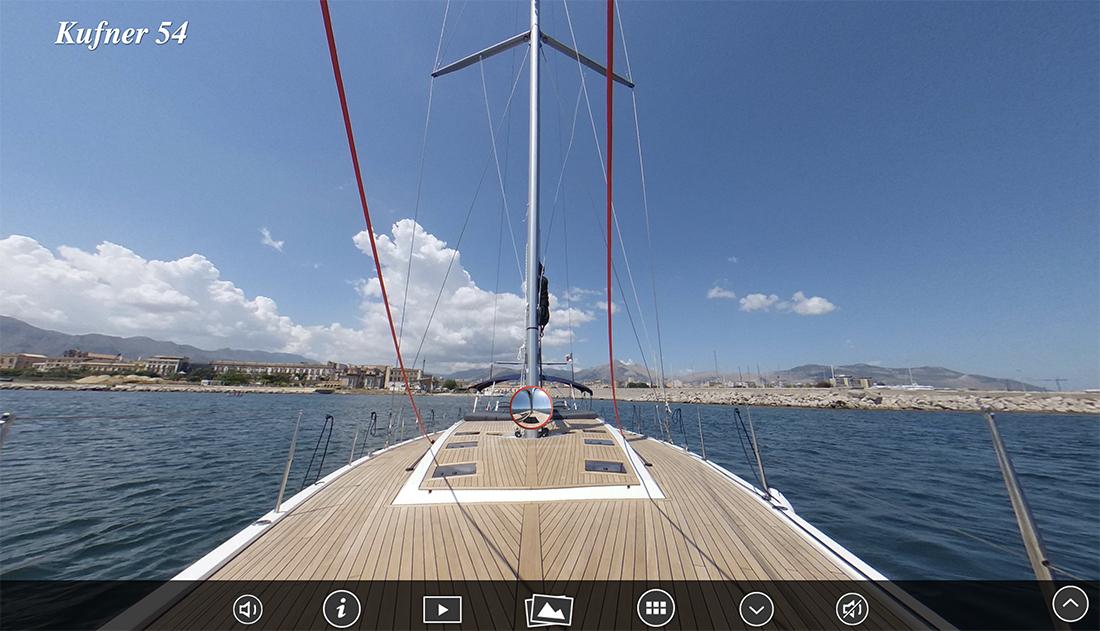 kufner yachts kufner 54 virtual tour